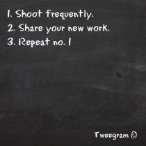 shoot frequently