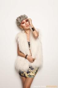 DJ Eva T, photographed by Dwayne Foong