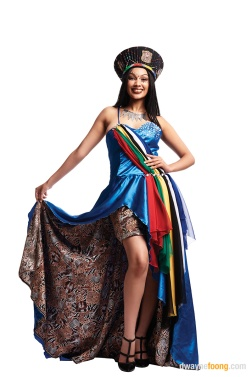 Miss Tourism South Africa for Miss Tourism Queen of the Year beauty pageant by Dwayne Foong.